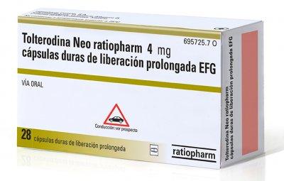 ratiopharm lanza su primer medicamento para la incontinencia urinaria