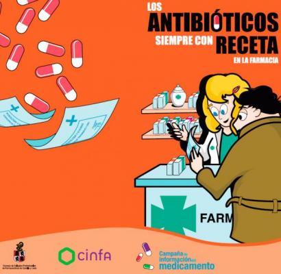 las 1630 farmacias de castilla y leoacuten inician una campantildea para alertar del mal uso de los antibioacuteticos