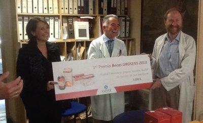 becas urosens 2013  de salvat para el hospital gregorio maranon