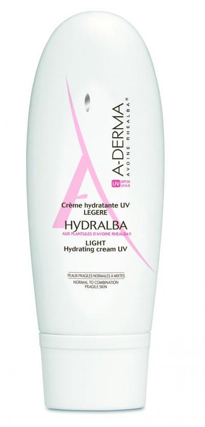 nuevos cuidados hidratantes protectores hydralba uv de aderma