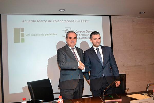 acuerdo fepcgcof para mejorar la calidad asistencial de los pacientes con la participacion farmaceutica