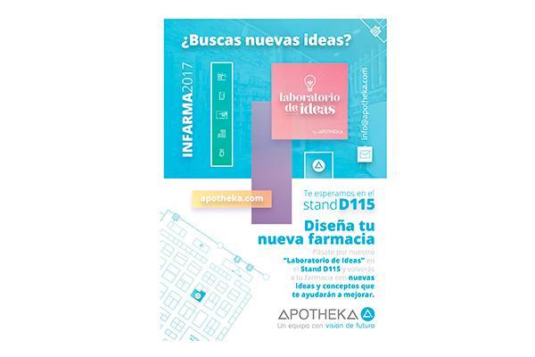 apotheka invita a todos los farmaceuticos a su laboratorio de ideas en infarma
