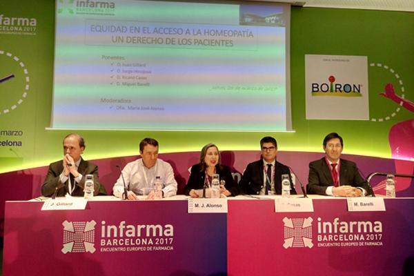 infarma entra de lleno en el debate sobre la equidad en el acceso a la homeopata