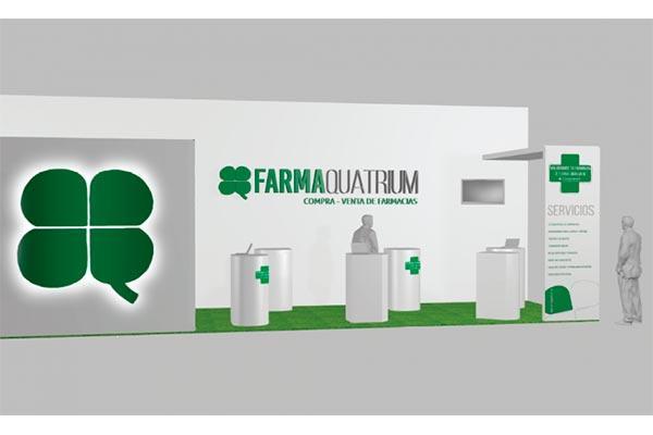 grupo quatrium desplega en infarma sus marcas farmaquatrium y ozoaqua