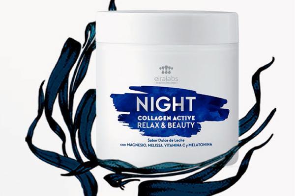 llega night collagen active para dormir placidamente mientras tu piel se regenera y embellece