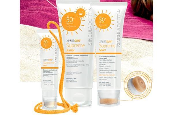 singuladerm lanza tres nuevos productos en su gama de belleza solar xpertsun