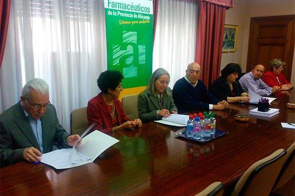 el cof alicante establece lineas de colaboracion con tres asociaciones de parkinson de la provincia