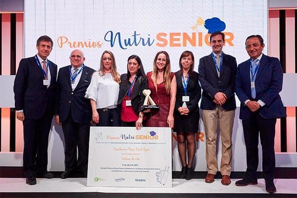 fontactiv e inforesidencias entregan los primeros premios nutrisenior a las buenas practicas alimentarias