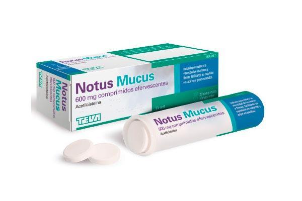 notus mucus acetilcisteina lo nuevo de teva en su gama consumer healthcare