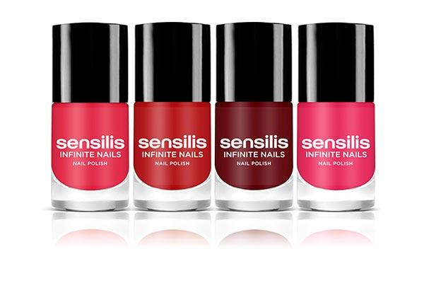 sensilis presenta su coleccion infinite nails con cuatro colores de ultima tendencia