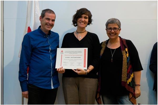 alliance healthcare reconocida por su colaboracion con la cruz roja del prat durante 2016