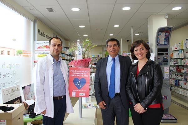 apoyo institucional a la farmacia toledana y su campana de deteccion del riesgo cardiovascular