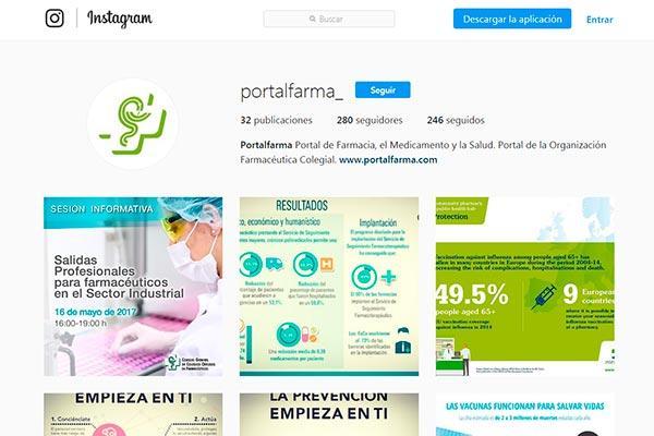 el consejo general de colegios farmaceuticos pone en marcha un nuevo perfil en instagram