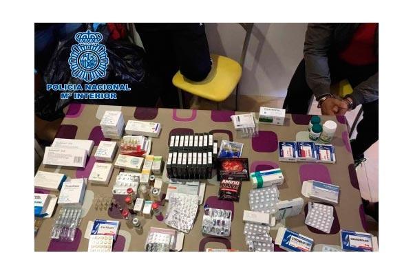 desmantelan un laboratorio clandestino que elaboraba productos dopantes y medicamentos falsos