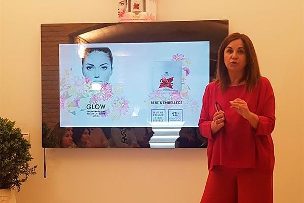 eiralabs presenta en barcelona glow la beauty lift drink de moda