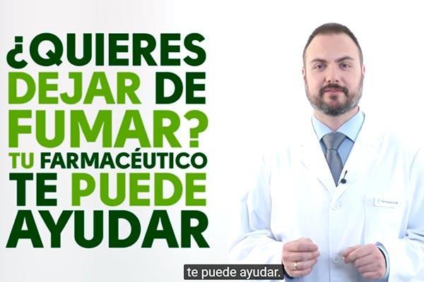 el farmaceutico desarrolla una importante labor en la deshabituacion tabaquica