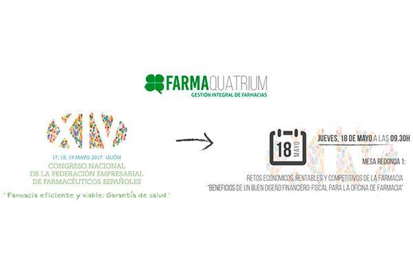 farmaquatrium mostrar todo su potencial en el congreso nacional de fefe