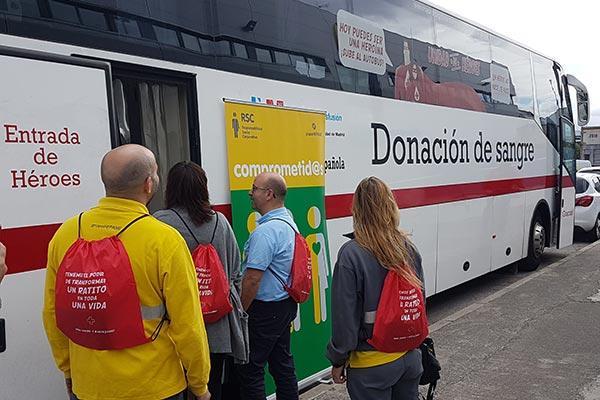 grupo hefame combate la escasez de sangre en hospitales con la campana dona sangre dona vida