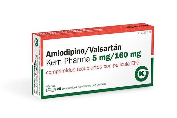 llegan dos nuevas presentaciones de amlodipino  valsartan de kern pharmanbsppara la hipertension esencial