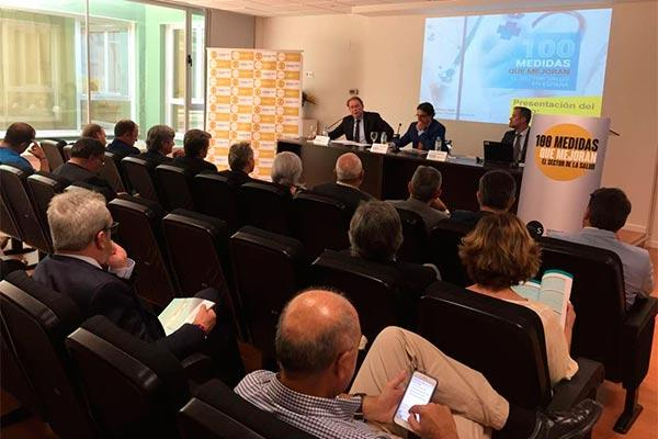 vergeles apuesta por un acuerdo nacional de sostenibilidad con la industria farmaceutica