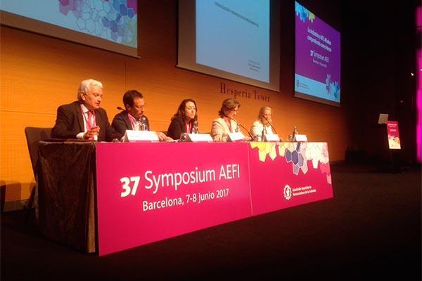 la asociacion espanola de farmaceuticos de la industria abre las puertas de su 37 symposium