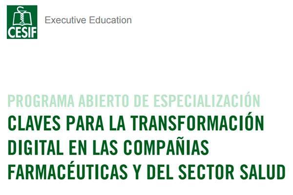 cesif anuncia un nuevo programa abierto de especializacion sobre transformacion digital