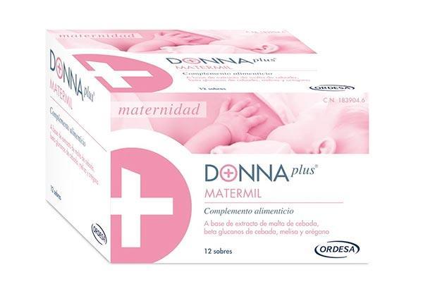 donnaplus matermil el nuevo complemento alimenticio de laboratorios ordesa para la lactancia