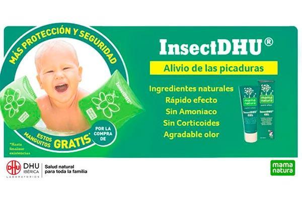 insectdhu alivia las picaduras de los mosquitos con ingredientes naturales
