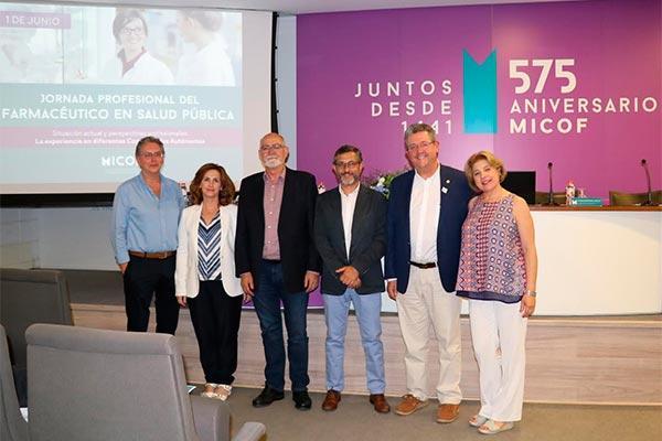 el micof acoge la i jornada para farmaceuticos de salud publica con recado para sanitat