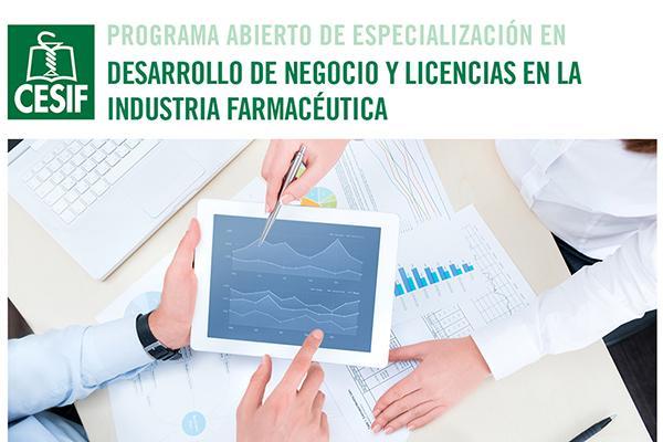 nueva edicin del pae en desarrollo de negocio y licencias en la industria farmacutica del cesif