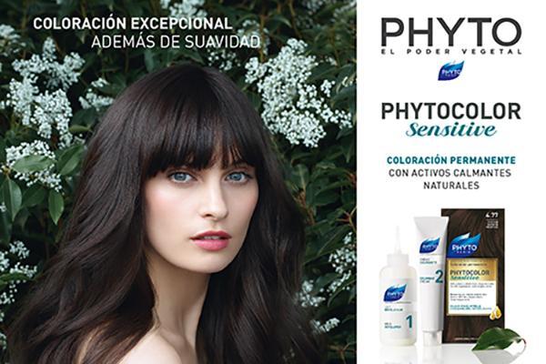 phytocolor sensitive coloracion permanente con activos calmantes naturales