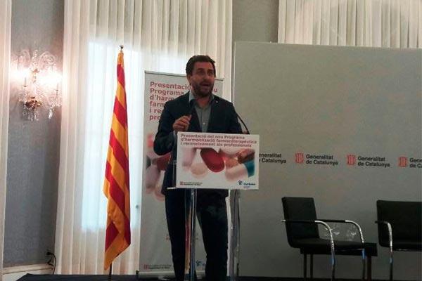 la sanidad catalana presenta el nuevo programa de armonizacin farmacoteraputica
