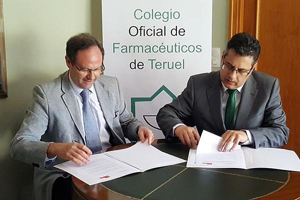 sefac y el cof de teruel apuestan por el desarrollo de los servicios profesionales farmaceuticos