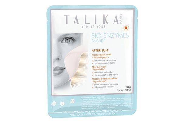 talika presenta su nueva mascara bio enzymes aftersun