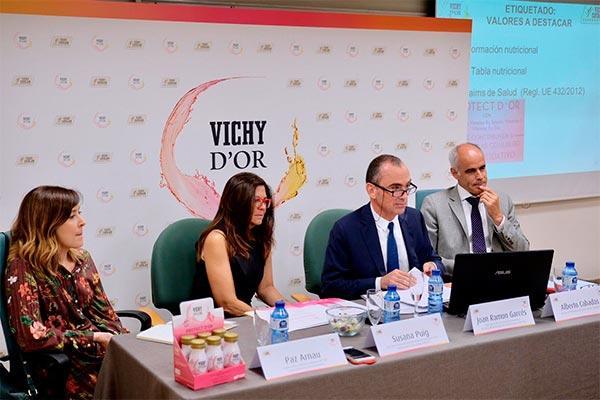 vichy cataln presenta vichy dor su gama de bebidas de nutricosmtica exclusivas para la farmacia