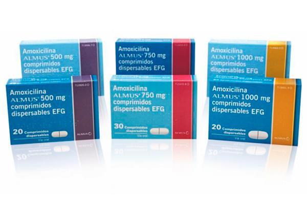 almus refuerza su portfolio de antiinfecciosos con el lanzamiento de la version generica de clamoxyl