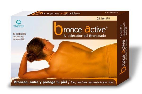 bronceactive reduce la exposicion solar y consigue en menos tiempo un bronceado duradero