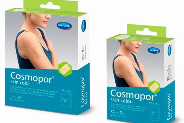 hartmann lanza el apsito cosmopor skin color