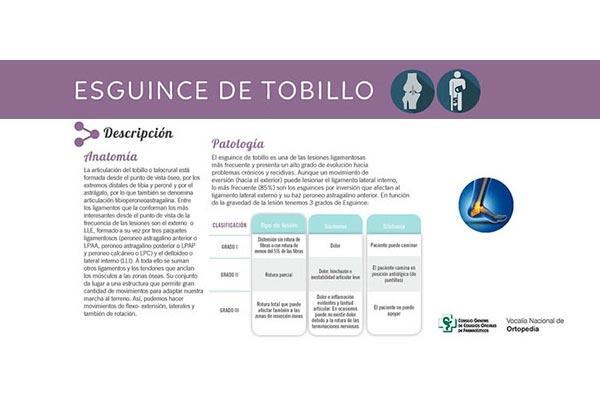 la ortopedia se suma a los protocolos de actuacin farmacutica del cgcof