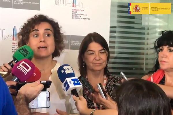 sanidad reforzara la aemps con 3 millones de euros y 40 nuevas plazas a colacion de la ema