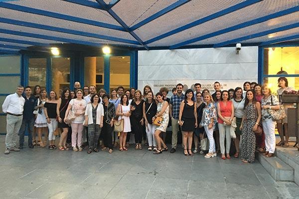 el cof de tarragona reune a sus grupos de trabajo en su apuesta por la formacion de profesionales