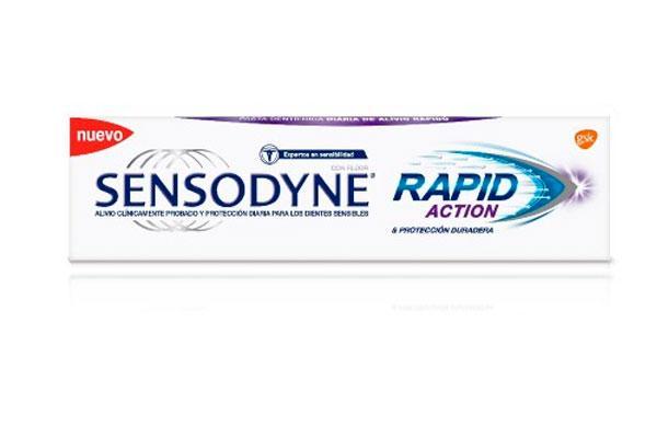 nuevo sensodyne rapid relief alivio rapido del dolor por sensibilidad dental
