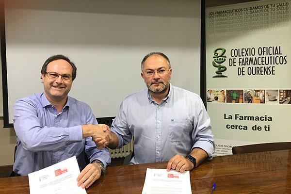acuerdo de cof ourense y sefac para el desarrollo de spf en la farmacia comunitaria