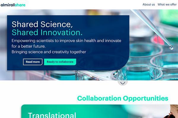 almirallshare la plataforma de innovacion abierta para descubrir soluciones en la salud de la piel