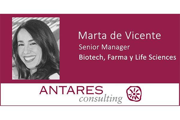 antares consulting incorpora a marta de vicente como experta del area biotech farma y life sciences