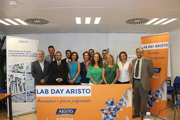aristo pharma forma a futuros farmaceuticos en la primera edicion del lab day
