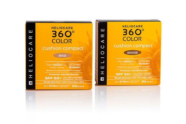 heliocare 360 color cushion compact la primera fotoproteccin con color en formato cushion