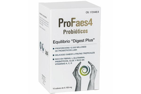 llega el nuevo profaes4 digest plus con glutamina un aminocido esencial