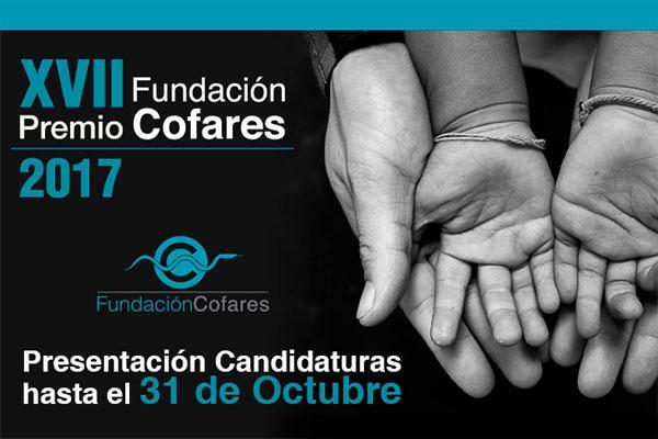 en marcha la convocatoria del xvii premio fundacion cofares