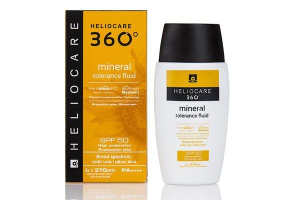 pieles sensibles mas protegidas del sol con heliocare 360 mineral tolerance fluid de ifc